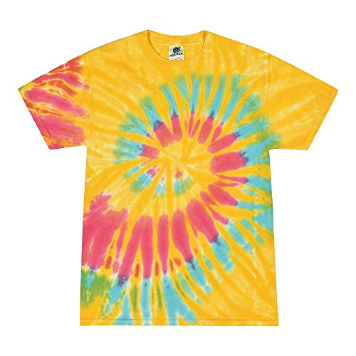 Colortone Tie Dye T-Shirt XL Aurora