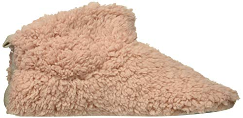 Women's Pink Bootie Slipper Pile Dusty Dearfoams 4pd6qa4