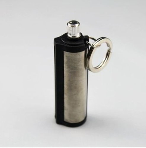 Survival Camping Hiking Emergency Fire Starter Flint Match Lighter KeyChain