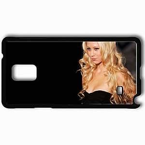 Personalized Samsung Note 4 Cell phone Case/Cover Skin Anna Kournikova Black