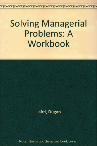 Solving Managerial Problems