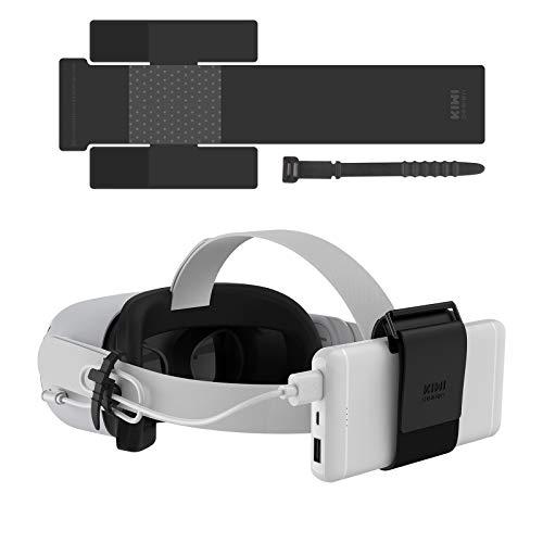KIWI design VR Power Bank-bevestigingsriem voor Oculus Quest / Quest 2-accessoires Compatibel voor meerdere maten…