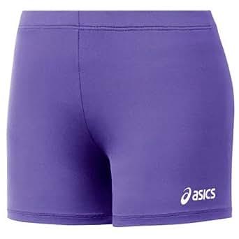 """ASICS Women's Spandex Court Volleyball Shorts - 4"""" Inseam"""