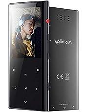 8 GB Bluetooth 4.1 MP3 Musik Player mit Touch-Taste, One-Button Voice-Recorder, FM-Radio, 30 Stunden Wiedergabezeit