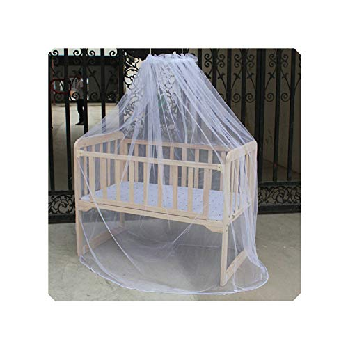 Mosquito Net Baby Bed Mosquito Mesh Dome Curtain Net for Toddler Crib Cot Canopy Kids Bed Fly Netting