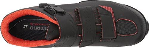 Shimano Sh-me3 Moto Shoe Montagna - Mens Nero / Arancione