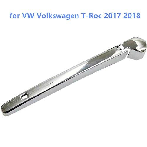 Cubierta de pl/ástico ABS para limpiaparabrisas trasero de coche para VWTROC