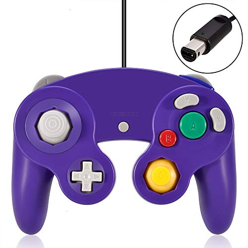 (VOYEE Gamecube Controller, Classic Wired Controllers Gamepad for Wii Gamecube,Compatible with Wii Nintendo Gamecube (Black))