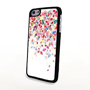 CaseBeautiful Liveliy Flowers Matte Pattern PC Phone Cases fit for Fresh Colorful iPhone 5C Case