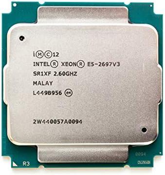 INTEL CM8064401807100 Xeon E5-2697 v3 Fourteen-Core Haswell Processor 2.6GHz 9.6GT//s 35MB LGA 2011-v3 CPU OEM OEM Renewed