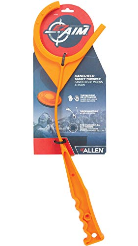 Allen Company Handheld Clay Target Thrower (Clay not Included) - Orange