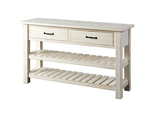 Martin Svensson Home 890243 Sofa - Console Table, Antique White