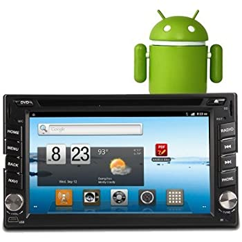 ouku universal 2 din android 4 4 os in dash car pc dvd radio player gps  navigation head dek stero radio+1ghz cpu+8gb flash+wifi+3g function+free  android app