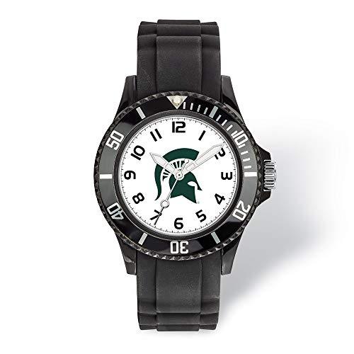 Jewels By Lux LogoArt Michigan State University Scholastic Watch