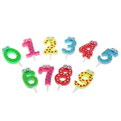 CandelaTorta Di Compleanno Candela Digitale Top