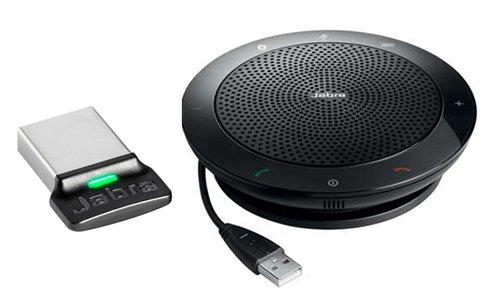 510 Bluetooth - Jabra Speak 510+ with Link 360 – USB & Bluetooth Speakerphone Optimized for UC