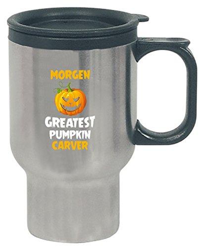 Morgen Greatest Pumpkin Carver Halloween Gift - Travel Mug]()