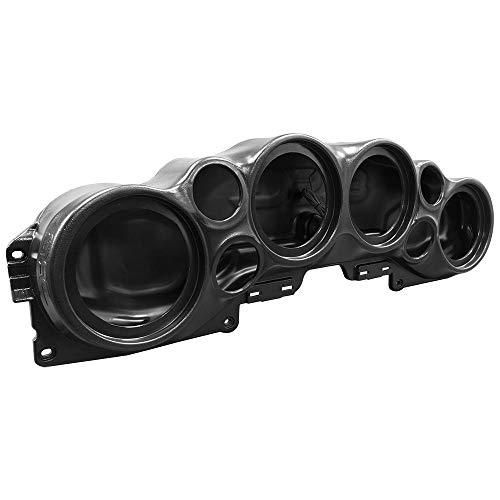DS18 JL-SBAR Black Jeep Wrangler Overhead Soundbar for Jl 2007-2019 Will accommodate 4 X 8-Inch Speakers, 4 X 1.75-Inch Tweeters, (Black)