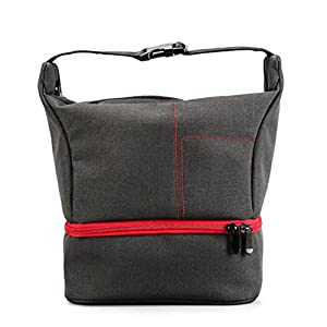 Portable Camera DSLR Handbag Backpack Mokao Mini Waterproof Travel Bag by for Camera Lens Laptop/Tablet and Photography Accessories For Nikon Canon Sony Olympus Samsung Panasonic Pentax Cameras (RD)