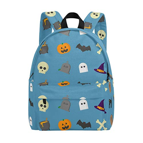Thomas Eugene Halloween Backpack for School Work Travel(15 x 11.5 x 6 in) -