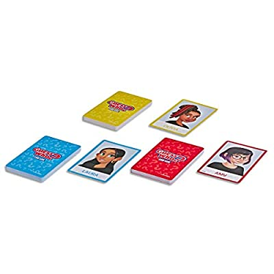 Hasbro Gaming Guess Who? Card Game for Kids Ages 5 and Up, 2 Player Guessing Game: Toys & Games