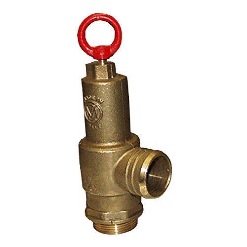 (Brass Pressure Relief Valve, 230 CFM, 1-1/2