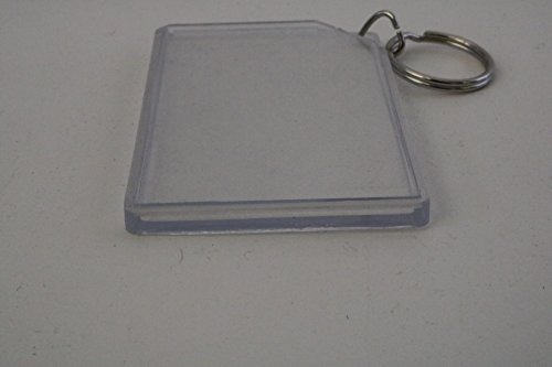 elbaz Acrylic Picture Photo Frame Key Chain 2x3 Inches (Lot of 72 6 Dz) by elbaz