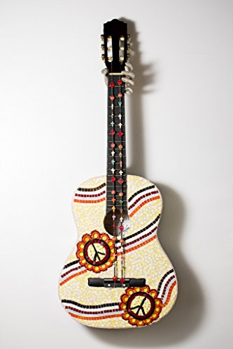 Glass Mosaic Guitar