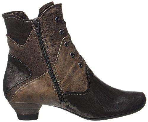 Think! Women's Aida Desert Boots Brown (Espresso/Kombi 42) for cheap sale online qBXLvDsBWm