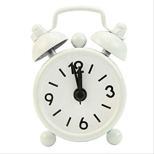 屋外ポータブルかわいいミニ漫画ダイヤル番号ラウンドデスク目覚まし時計