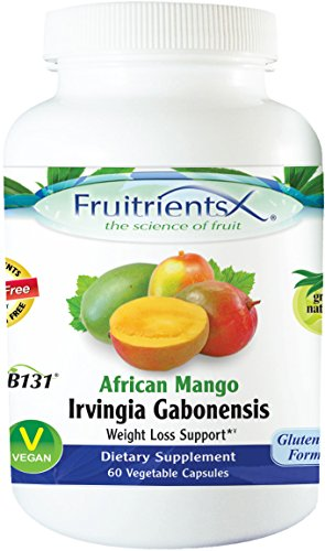 Fruitrients - African Mango  - Weight Loss Support - 60 Vege