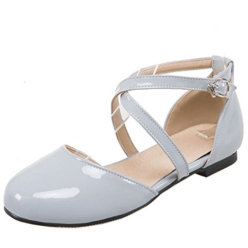3 Plano Mujer Zapatos Zanpa Dulce blue E4IWp