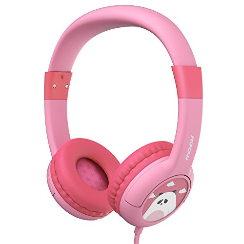 Mpow Kids Headphones with 85dB Volume Limited Hearing Protection & Music Sharing Function, Kids Friendly Safe Food Grade Material, Tangle-Free Cord, Wired On-Ear Headphones for Children Toddler Baby by Mpow (Image #7)'