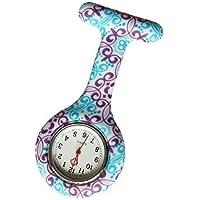 Capable Reloj De Bolsillo Con Diseño De Gato Ideal Como Regalo Para Enfermeras Relojes De Enfermera