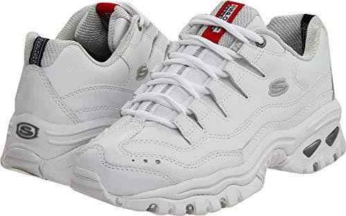 Skechers Sport Women's Energy Sneaker,White/Millennium,11 W US