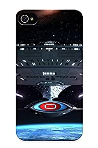 Improviselike Snap On Hard Case Cover Enterprise - Star Trek Protector For Iphone 4/4s by supermalls