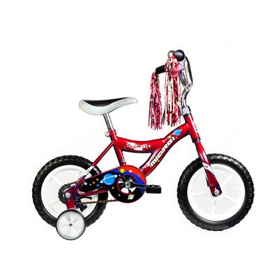 "MBR Boy's 12"" BMX Bike Color: Red -  Micargi, MBR12Y-B-RED"