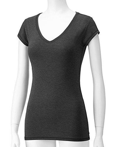 Regna X Love Coated Women's Slim fit Jersey Soft & Stretchy T shirts(2Styles, Plus size available)