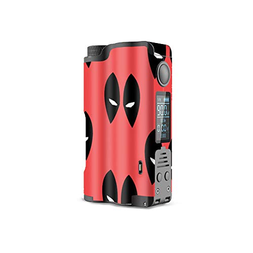 MightySkins Skin for Dovpo Topside Squonk - Dead Eyes Pool | Protective, Durable, and Unique Vinyl Decal wrap Cover | Easy to Apply, Remove, and Change Styles | Made in The USA -