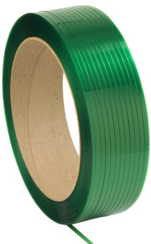 """Pac Strapping 1716-PAC  7/16"""" x .021"""" Dry Green General P..."""