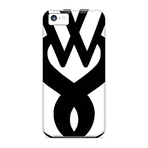 MansourMurray Iphone 5c Protective Hard Cell-phone Case Unique Design Realistic Foo Fighters Pattern [jzK9766uEAL]