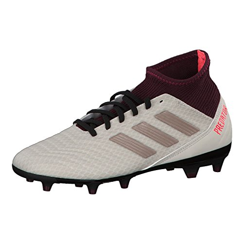 adidas Predator 18.3 FG W, Botas de Fútbol Para Mujer Multicolor (Talco / Grmeva / Granat 000)