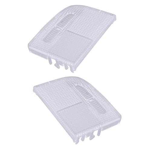 beler 2pcs Right Left Interior Roof Map Light Lens Fit for TSX Accord Civic Crosstour 34401-SDA-A21 34402-SDA-A21