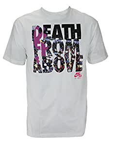 Nike Mens Death From Above Air Force 1 Shirt, White