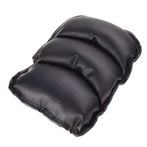 - TRUE LINE Automotive Car Center Console Armrest Cushion Comfort Pillow Pad (Black)