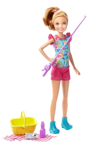 Barbie Sisters Camping Stacie Doll