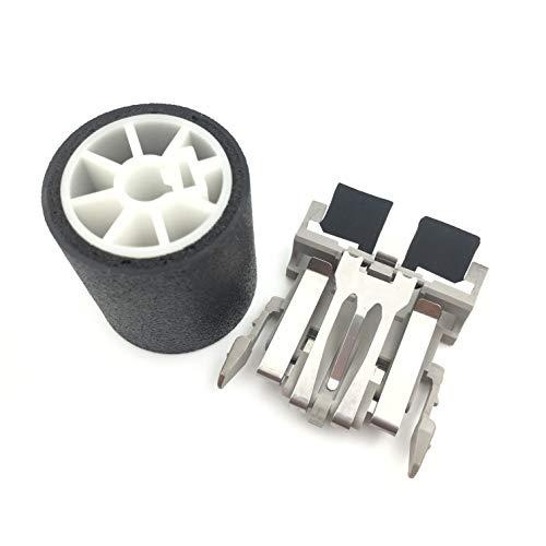 OKLILI 1SET PA03289-0001 PA03289-0111 Pick Pickup Roller Separation Pad Assembly for Fujitsu fi-6010N fi-6000NS fi-5120C fi-5220C fi-4120C2 fi-4220C2 fi-4120C fi-4220C