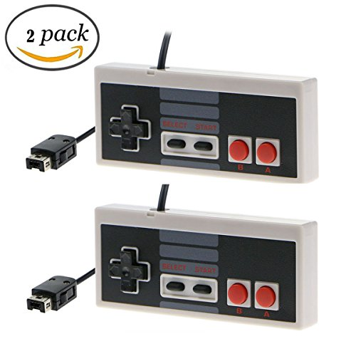 (2 PACK) JEDEW NES Mini Classic Edition Extra Controller GamePad joystick Retro Game Controllers for Nintendo mini nes Classic Version