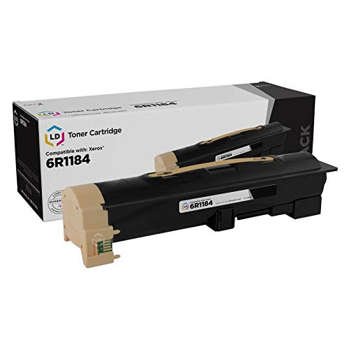 (LD Compatible Toner Cartridge Replacement for Xerox 6R1184 (Black))