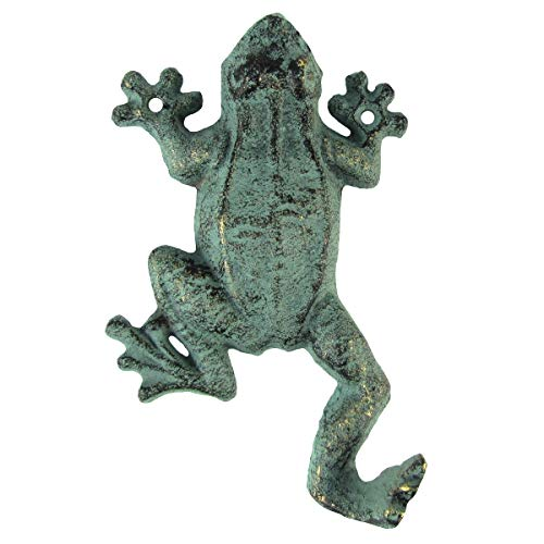 TG,LLC Gecko Frog Door Hook Wall Coat Hanger Hat Rack Keyring Holder